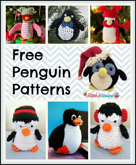 Or For Free March Of The Yarn Penguins Crochet Knit A Happy Penguin Stitch And Unwind