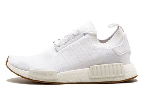 Adidas Nmd R1 Gum Pack White Original Sneakers adidas nmd r1 gum pack white shoes