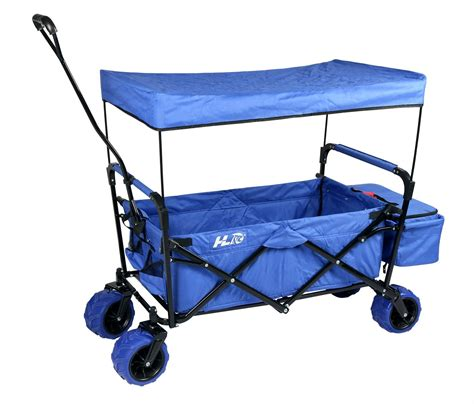 large wagon total fab best foldable wagons with big wheels