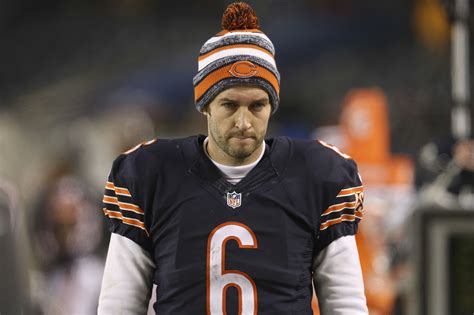 jay cutler bench say thanks for jay cutler s benching bears fans the morning call