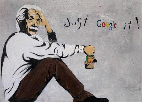 albert einstein biography ks2 einstein just google it wall graffiti art