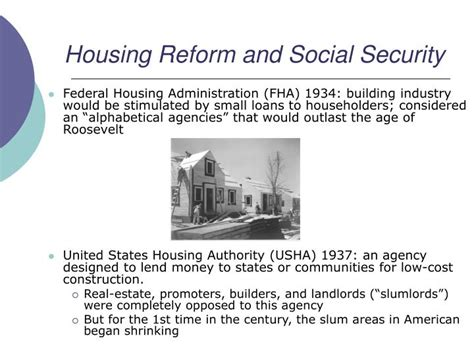 social security housing ppt group 5 chapter 33 powerpoint presentation id 3908768