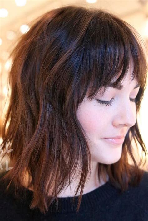 this short hairstyle has lots of volume as it is thick and short layered hairstyles best layered haircuts for short hair