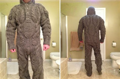 knitted suit 15 knit gifts more uncomfortable than a wool sweater