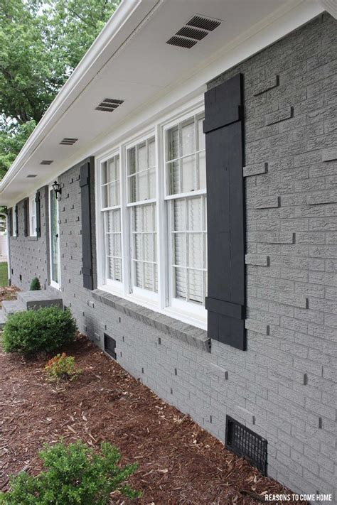 shutters on brick house best 25 painted brick exteriors ideas on pinterest