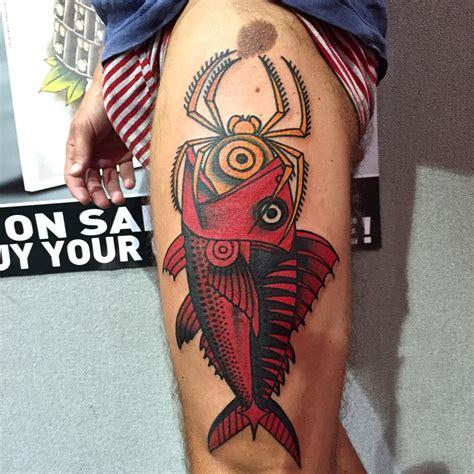 redfish tattoo fish best ideas gallery