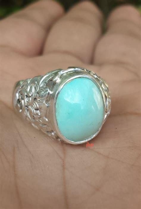 Cincin Pirus 07 jual cincin batu pirus nayshabur polos terjual
