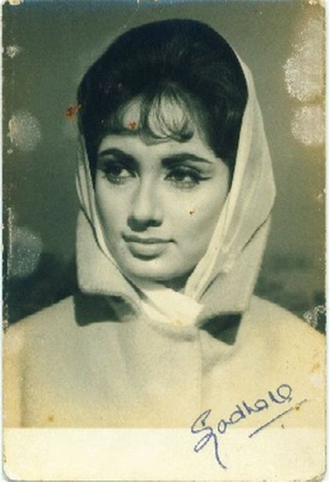 biography of film actress sadhna indian films and posters from 1930 vintage photogaph of