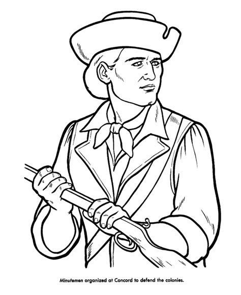 Revolutionary War Coloring Pages Coloring Home Revolutionary War Coloring Pages