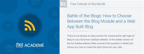 tutorial web app tutorial of the month battle of the blogs how to choose