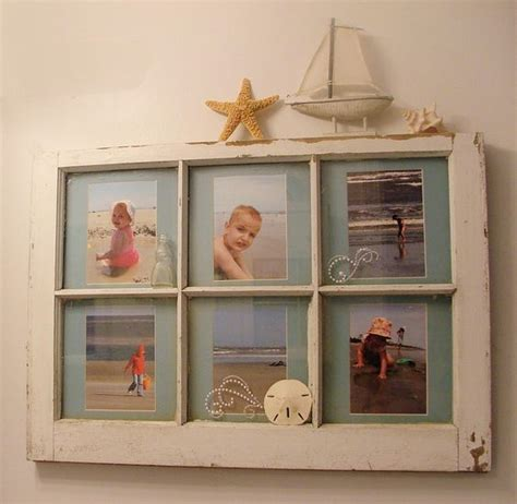 bathroom picture frame ideas i made this for my quot beach quot themed bathroom out of an old