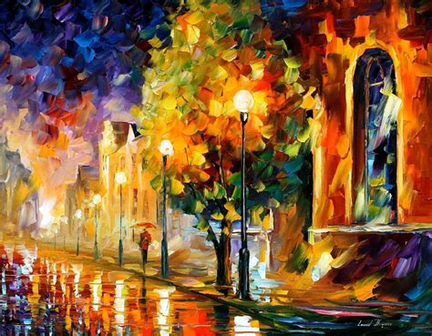 paint sles before palette knife painting on canvas by leonid afremov size 24 quot x30 quot