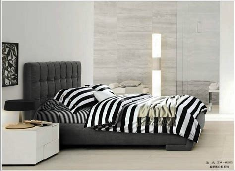 black and white striped bedding 4pcs full size 3d black and white bedding white and black