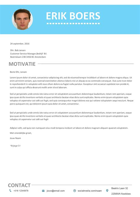 curriculum vitae format download in ms word gratis download minimale cv motivatiebrief met een
