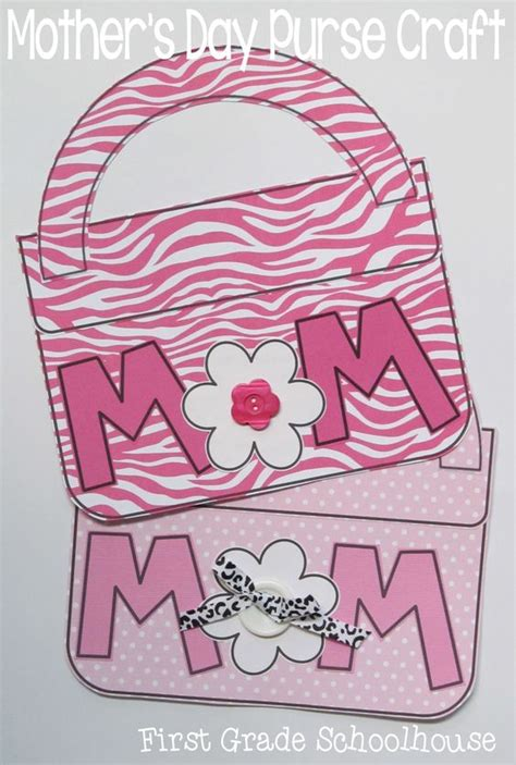 images of and craft for s day purse craft and booklet happy mothers day