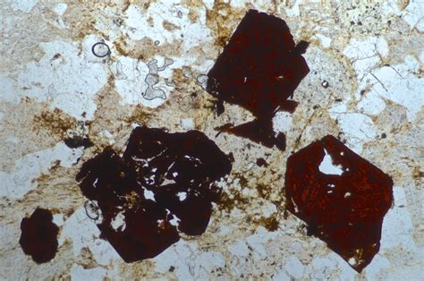 hematite in thin section rutile thin section 28 images rutile thin section