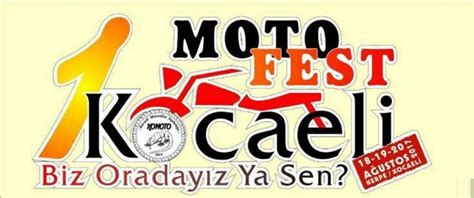 kocaeli motosiklet festivali kocaeli festivalleri