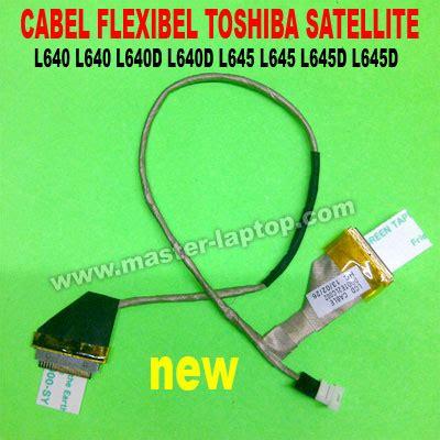 Kabel Flexibel Laptop Toshiba Satellite L635 kabel flexibel toshiba satellite l640 l640d l645 l645d