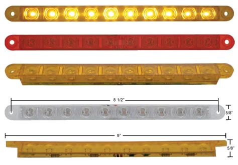 9 Led Light Bar 10 Led 9 Quot Light Bar