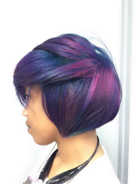 Feves Hair Color New Formula formula new year purple career modern salon