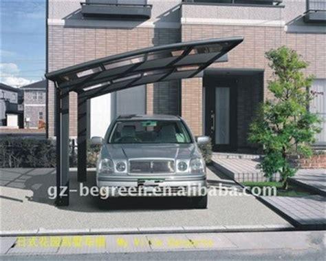Plastic Car Port by Modern Aluminum Frame Car Port Fashion Single Plastic