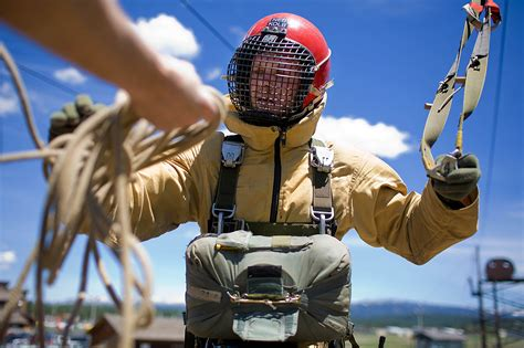 what are smokejumpers how smokejumpers prepare for wildfire season high