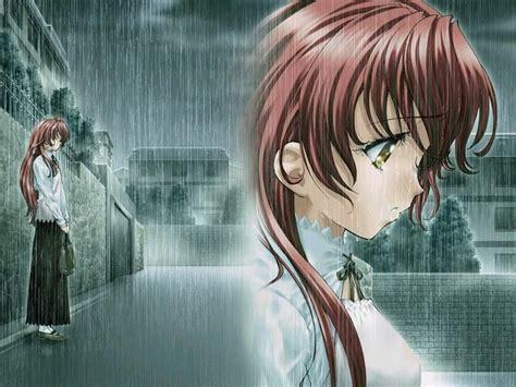 wallpapers hd anime triste animes besandose animes tristes