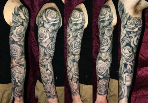 flower tattoos sleeve ideas flower sleeve tattoofanblog