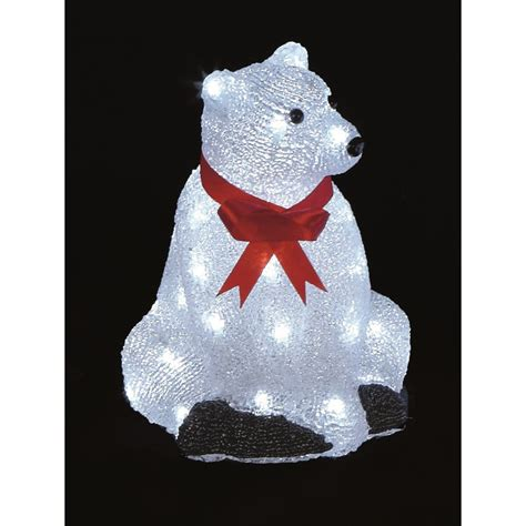 light up polar bear christmas decoration christmas decore