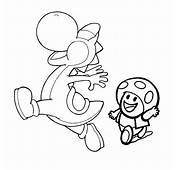 Mario Kart Yoshi  AZ Colorare