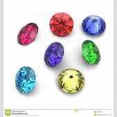 3d Round Gems C...