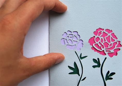 Paper Cutting Craft Tutorial - make stunning papercut wedding invitations