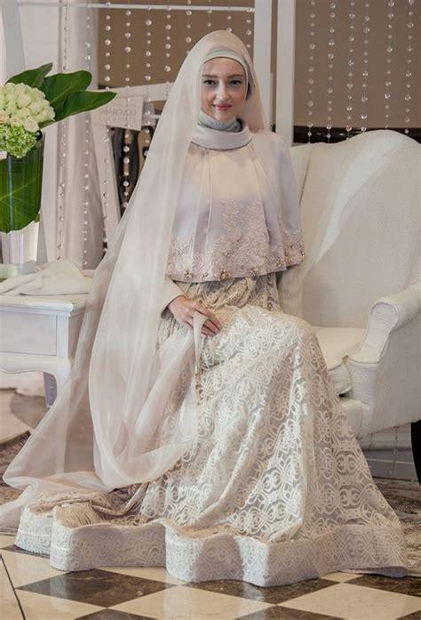 Baju Nikah Syar I fashionislami baju pengantin muslim terbaru merupakan salah satu baju muslim yang sesuai