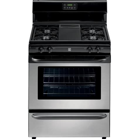 Broil And Serve Drawer by Kenmore 73033 4 2 Cu Ft Freestanding Gas Range W Broil