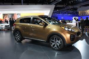 What Company Makes Kia Image 2017 Kia Sportage 2015 Los Angeles Auto Show Size