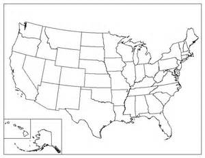 Us States Blank Map by Blank Map Quiz United States