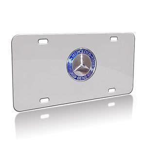 mercedes license plates mercedes emblem licence plate ebay