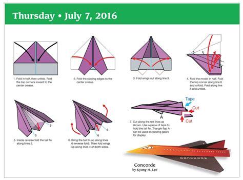 How To Make A Paper Calendar - paper airplane calendar