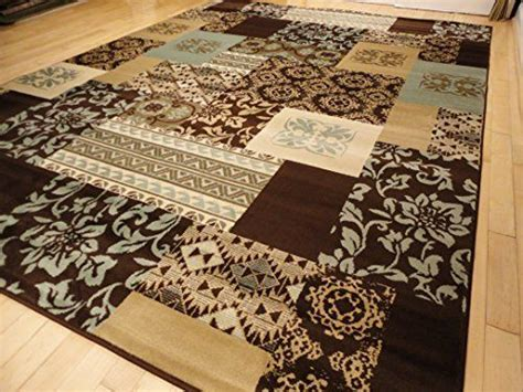 5x8 Area Rugs Clearance Premium Contemporary 5x8 Carpet Brown Beige Blue Modern Rugs For Living Room 5x7 Area
