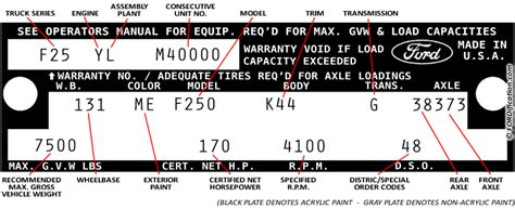 302 ford vin number location get free image about wiring