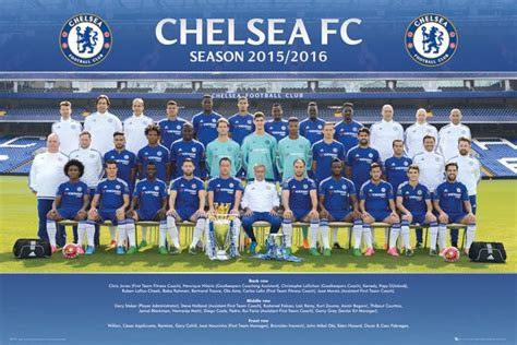 official chelsea football club 1780549466 official chelsea 2015 2016 football club picture frame