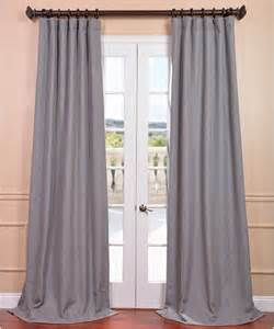 Light Grey Curtains Light Grey Linen Curtain Panel Contemporary Curtains By Overstock