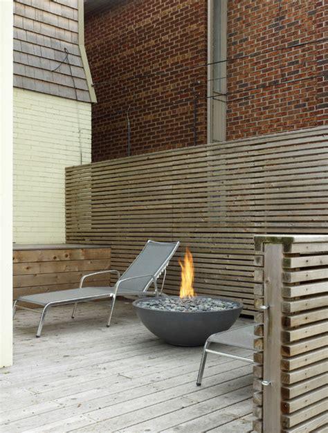 miso concrete firepit by paloform modern pits