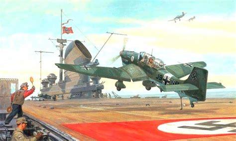 portaerei graf zeppelin german aircraft carrier wwiiplanes