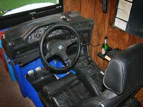 admit it you want this bmw e30 driving simulator in my