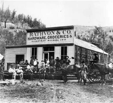 rathvon & co. hardware, groceries & mining supplies
