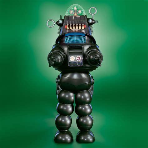 The Genuine 7 Foot Robby The Robot Hammacher Schlemmer | the genuine 7 foot robby the robot hammacher schlemmer