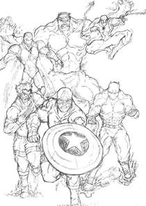marvel superhero coloring pages for kids projects to try