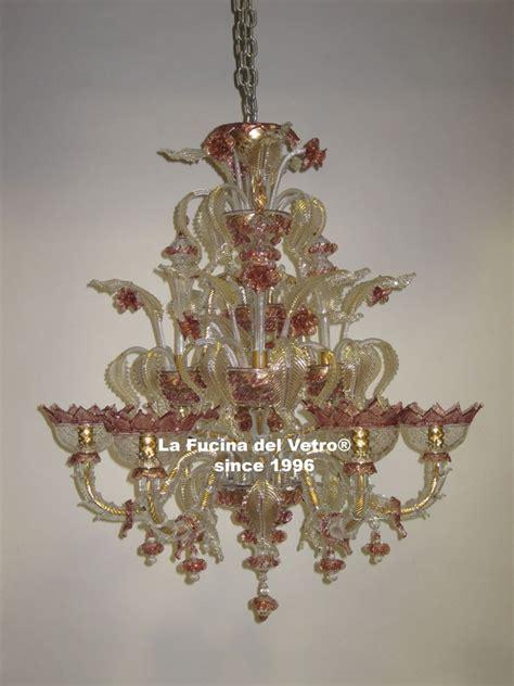 ladari in vetro di murano classici ladario in vetro di murano quot minirezzonico classico