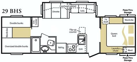 rv trailer floor plans tumbleweed tiny house floor plans xs house plans